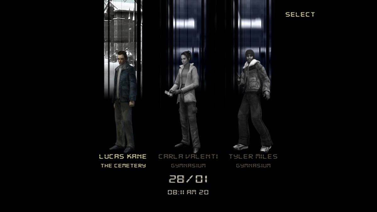 Fahrenheit: Indigo Prophecy Remastered: characters