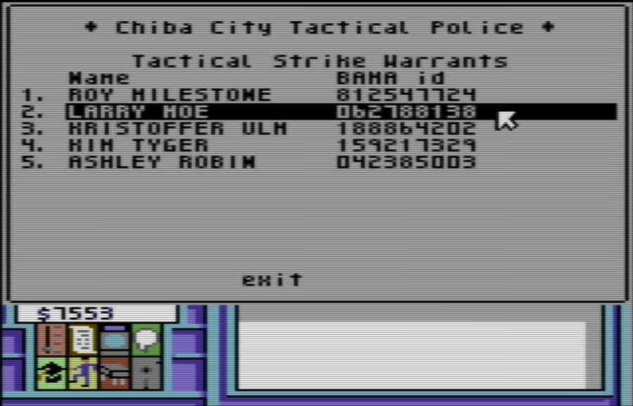 Neuromancer: police