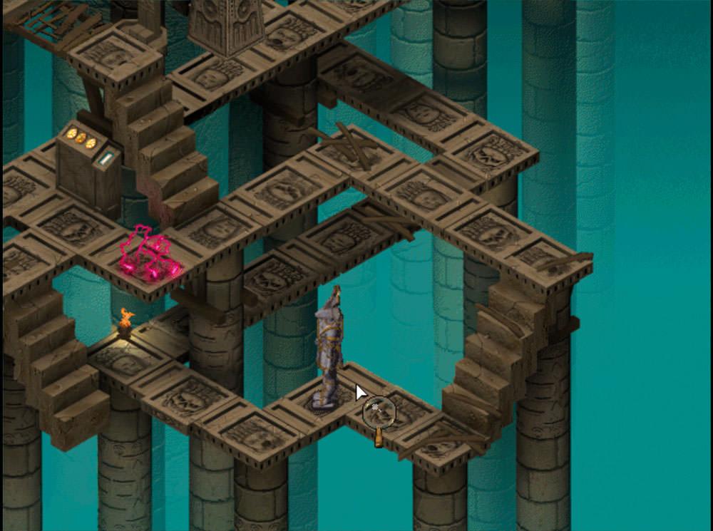Sanitarium: maze