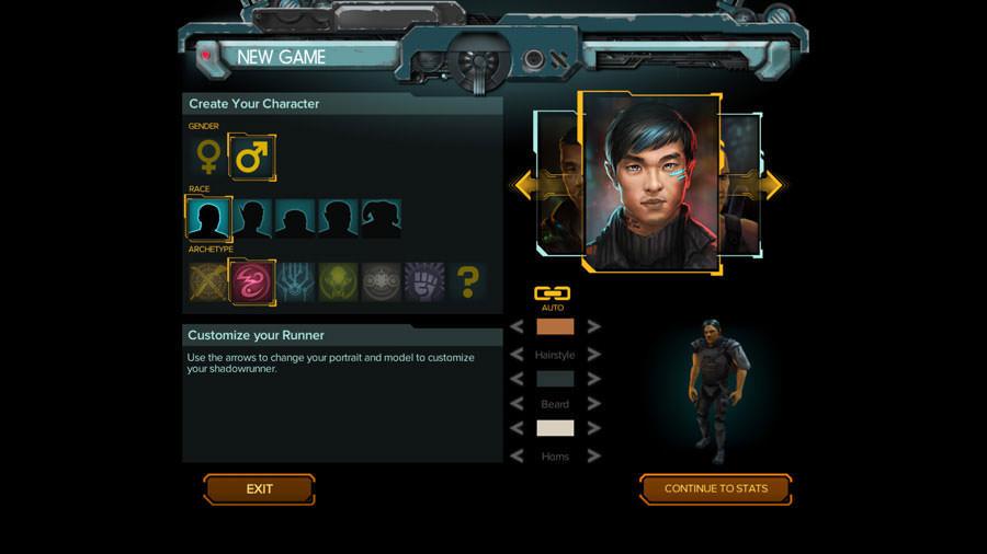 Shadowrun Hong Kong: character editor