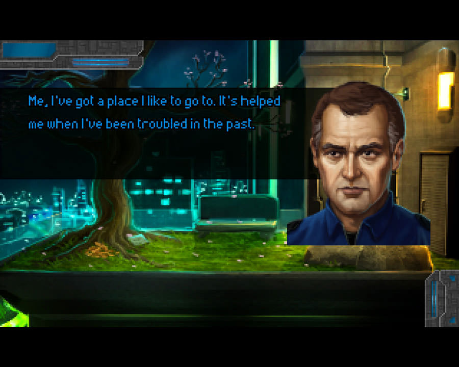 Technobabylon: garden
