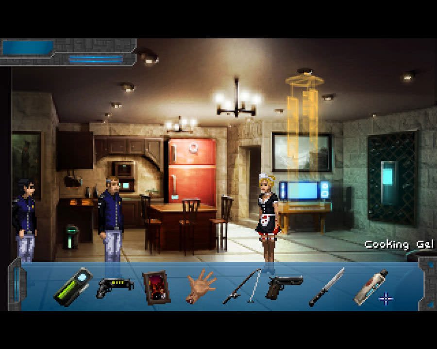 Technobabylon: Giel's apartment