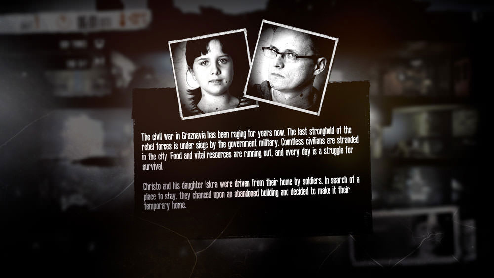 This War of Mine: my civilians