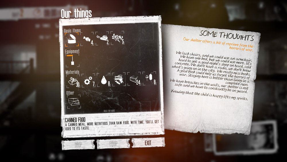This War of Mine: stash