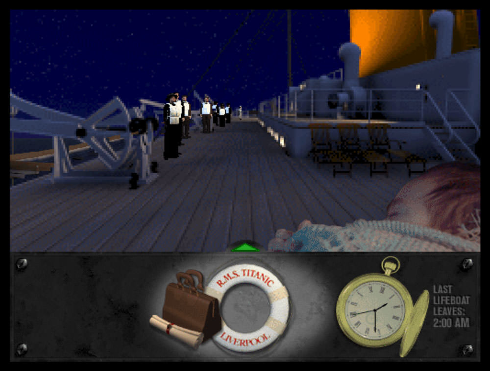 Titanic: Adventure Out of Time: boat deck
