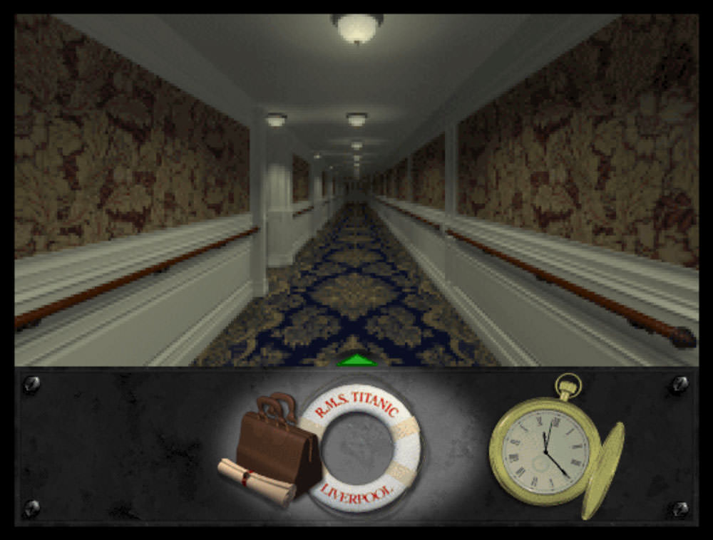 Titanic: Adventure Out of Time: first class corridor