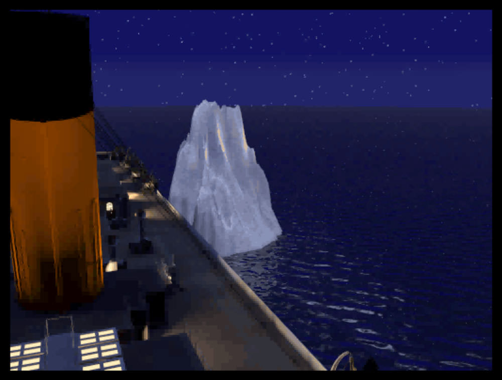 Titanic: Adventure Out of Time: iceberg