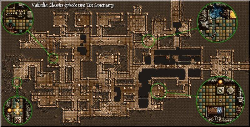 Valhalla 1: map 2
