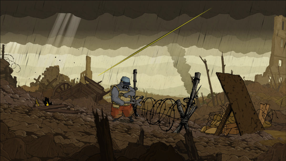 Valiant Hearts: barbed wire