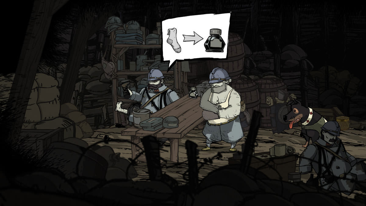Valiant Hearts: sock